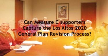 Measure C, Los Altos, 2020 General Plan, General Plan 2020