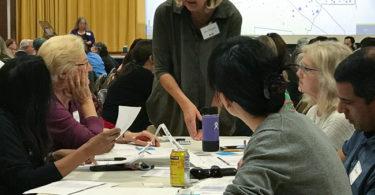 Los Altos School District engagement process charette workshop
