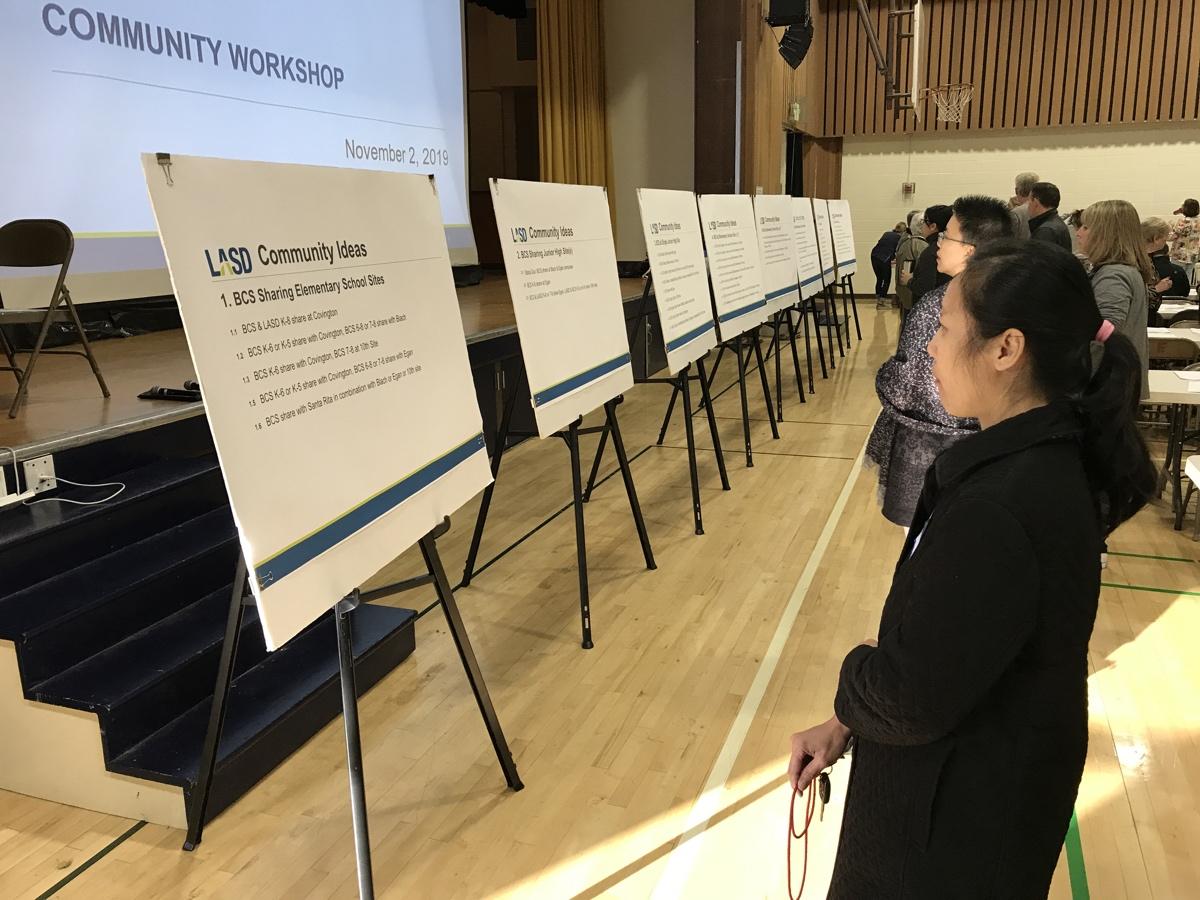 LASD BCS Ideas Workshop Nov. 1 2019 bullet voting