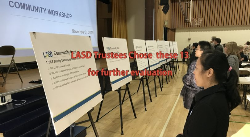 LASD Trustees, Los Altos School District, Public Engagement Workshops, BCS Ideas Workshops, Sangeeth Peruri, Peipei Yu, Steve Taglio