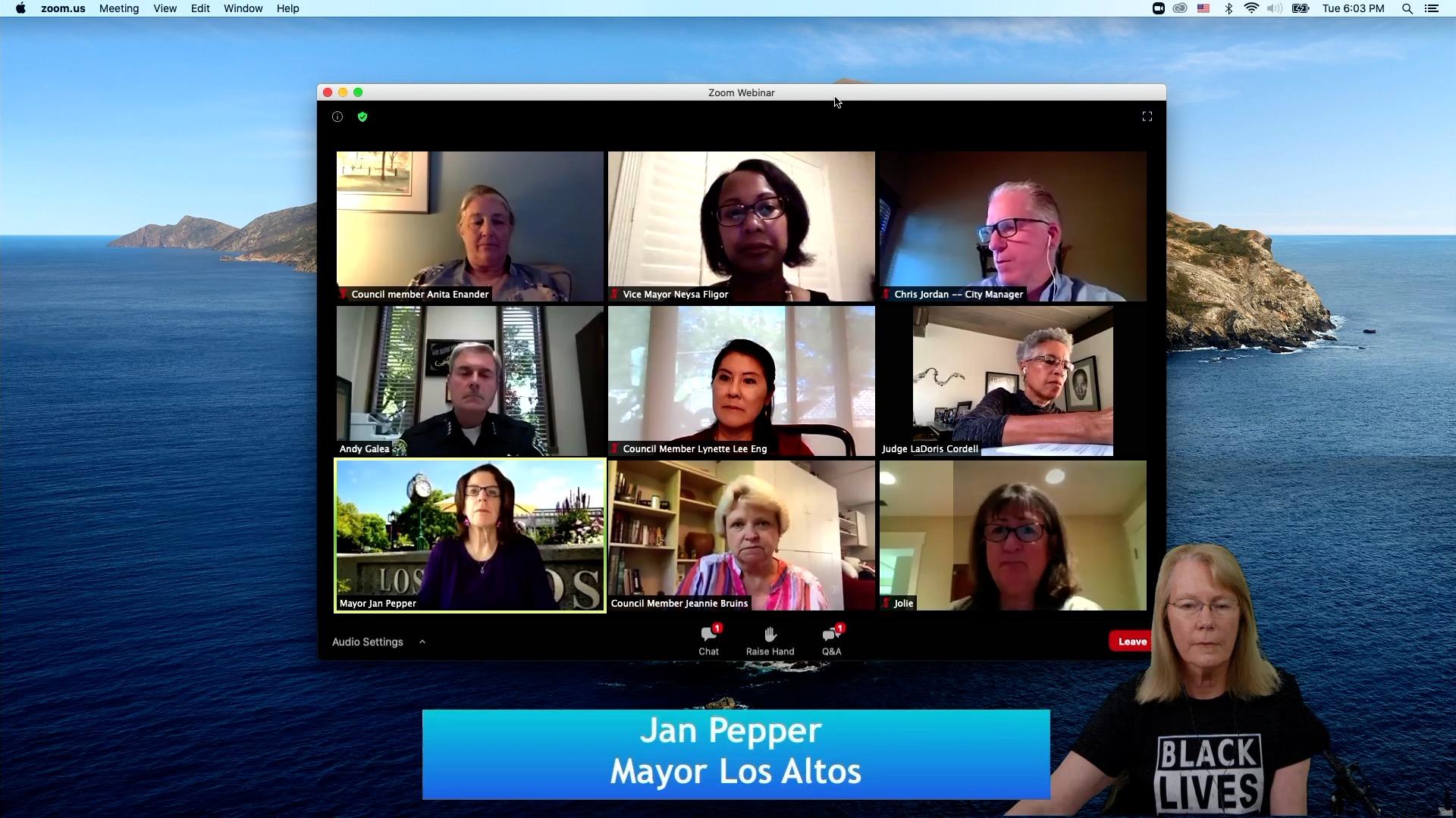 Los Altos Townhall Defund the Police July 2020
